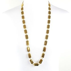 kate spade Necklace Sweater Length Gold Tone